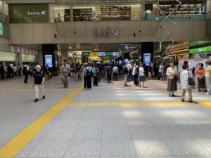 大宮駅の改札